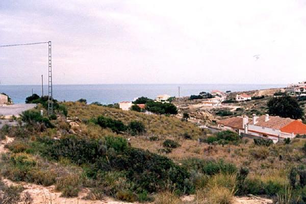 Grundstück mit Meerblick bei El Campello