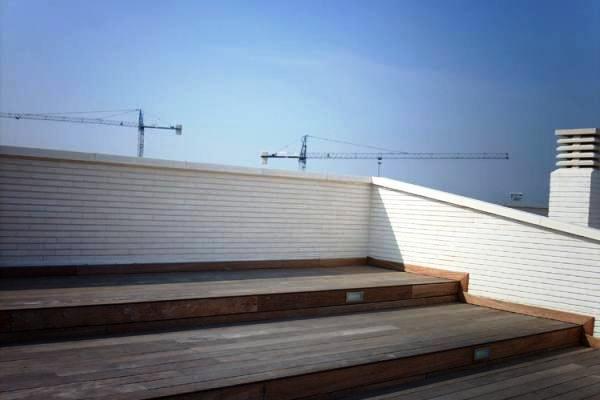 Alternativ: Dachterrasse