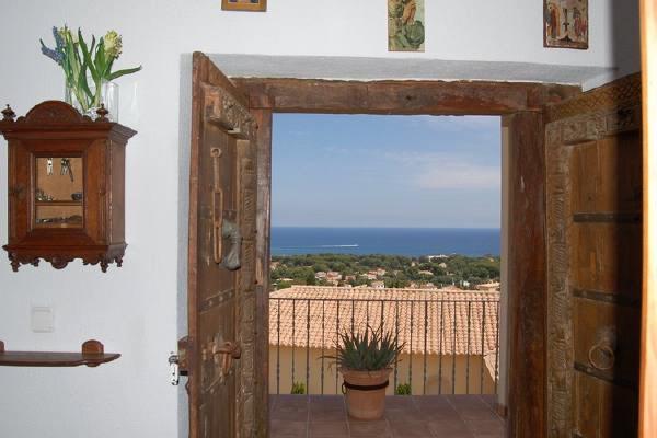 Terrasse mit beeindruckender Aussicht