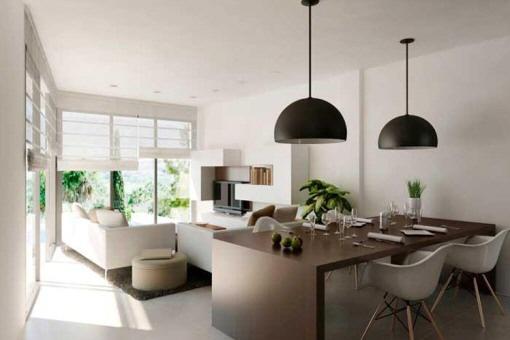 Haus Algorfa Luxurises Wohnzimmer