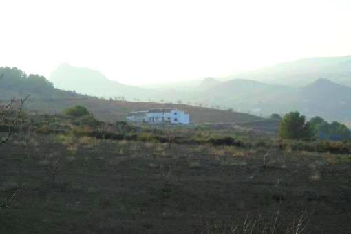 Finca mit 7ha Grundstück und Panoramablick