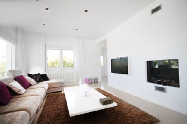 Der stilvolle, moderne Wohnbereich