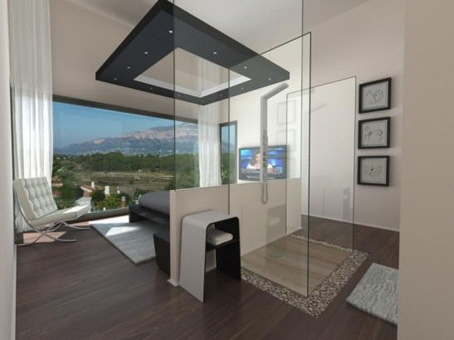 Schlafzimmer Mit Bad ~ Interieurs Inspiration, Wohnzimmer Design