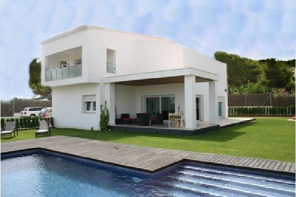 Luxuriöse neubau Villa in Javea mit privatem Pool