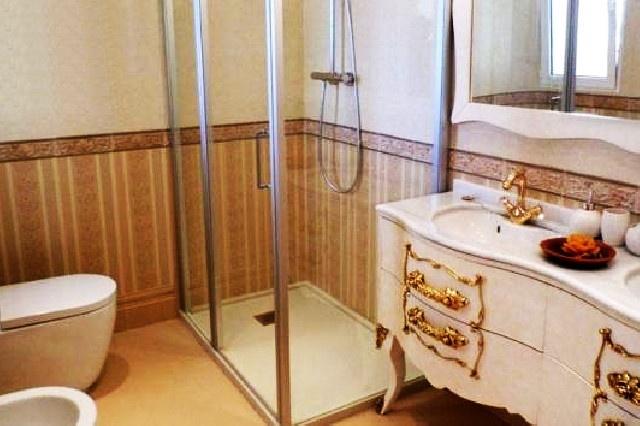 Eines der wundervollen Badezimmer