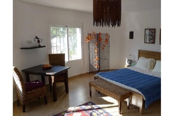 Eines der eleganten Schlafzimmer mit wunderschönem Interieur