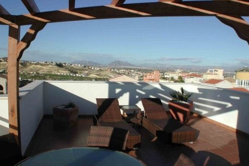 Terrasse mit fantastischem Blick