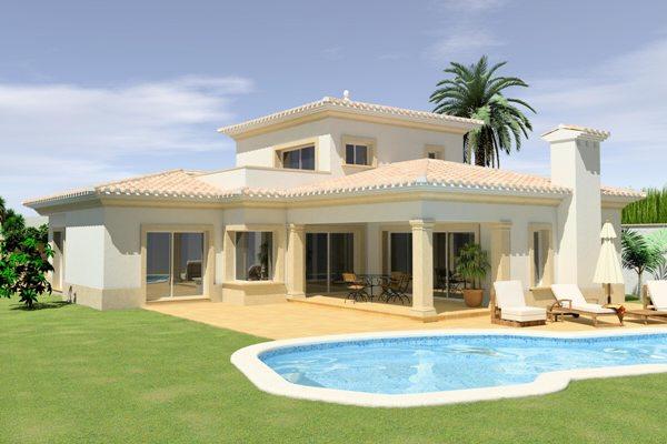Exklusive Villa in ruhiger Lage, mit Pool und Meerblick