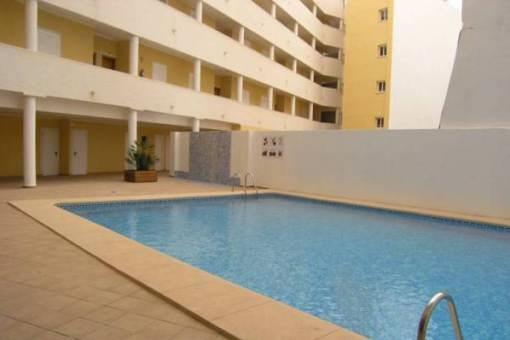 Geräumiges Apartment mit Pool