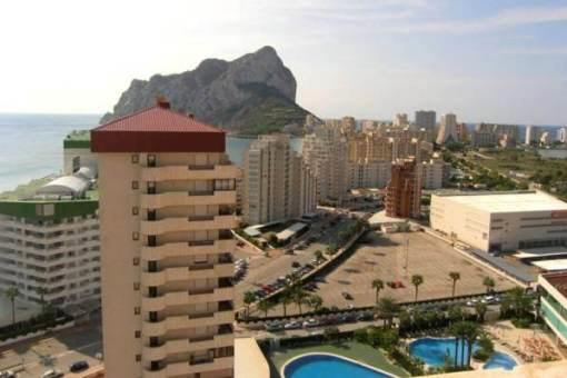 Attraktives apartment mit pool und super meerblick