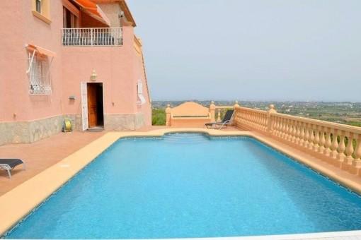 Villa mit 4 Schlafzimmern in La Sella Golf Resort.