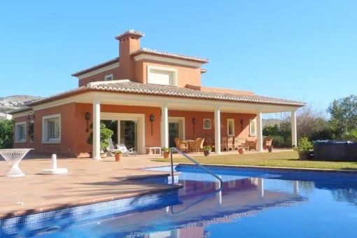 Extravagante freistehende Villa in Jávea / Cap de la Nao zum Kauf
