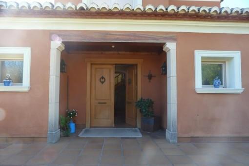 Villa in Javea - Groß Eingangbereich
