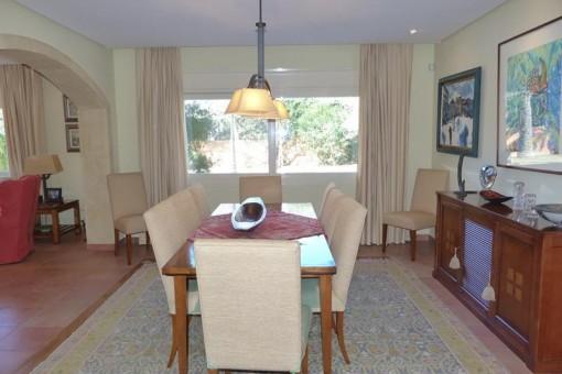 Villa in Javea - Hellige und geräumige Esszimmer