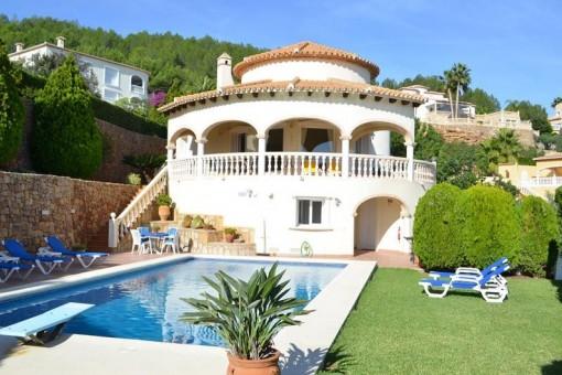 Außergewöhnliche Villa mit Meerblick