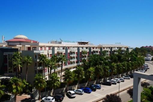 Renoviertes Apartment mit 360 Grad Panoramablick