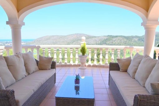 4- Zimmer Villa mit atemberaubenden Blick über La Sella Golf