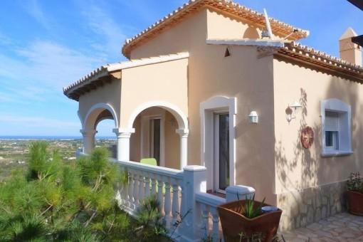 Mediterrane Villa mit beeindruckendem Panoramablick