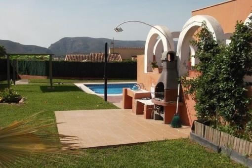 Große, schöne Villa in Javea am Montgo gelegen