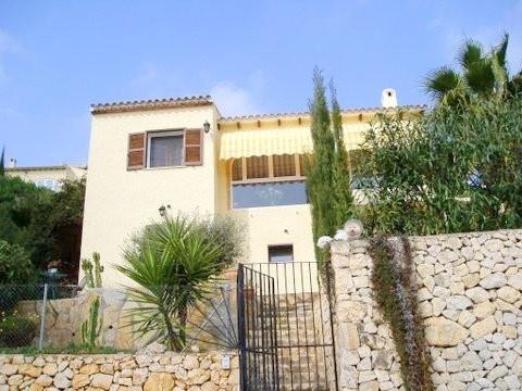 Villa mit Panoramablick über das Tal von La Sella und die Mittelmeerküste
