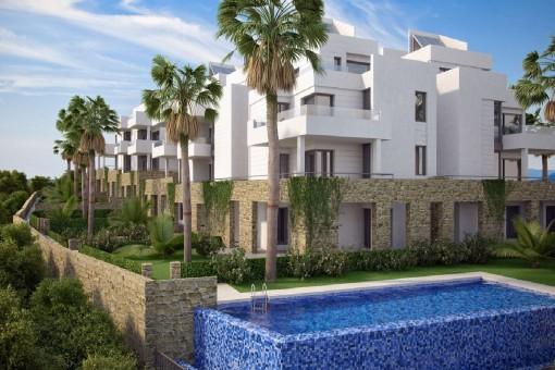 Modernes Apartment in Golfplatznähe in Orihuela Costa