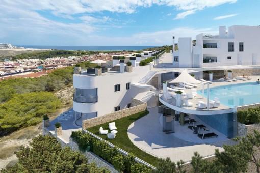 Luxuriöse Apartments mit Meerblick nahe Alicante