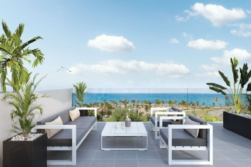 Neue Villen am Strand in Torre de la Horadada