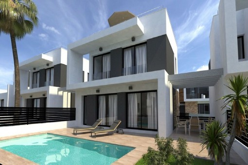 Neue freistehende Villa nahe Torrevieja