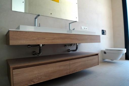Hochwertige Badezimmerausstattung