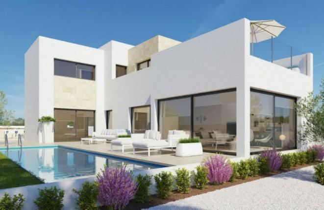 Luxuriöse Neubau-Villa mit Pool und Meerblick...