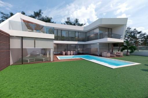 Luxuriöse Villa mit Pool in Altea, Alicante