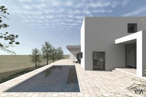 Neu gebaute Designer-Villa mit Pool in Benissa, Alicante