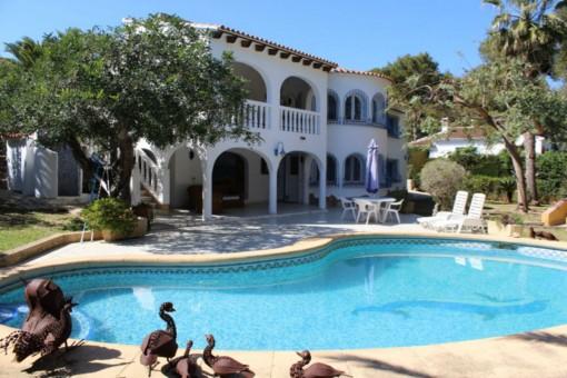 Stilvolle Villa mit Pool in Jávea, Alicante