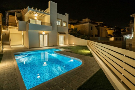 Moderne Villa mit Pool in Ciudad Quesada, Alicante