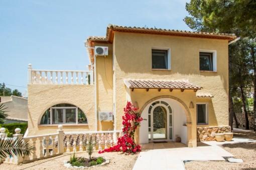Wunderschöne Villa mit Meerblick in Moraira, Alicante