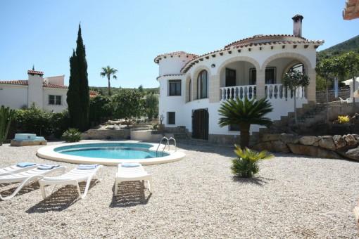 Elegante Villa mit Pool in Denia, Alicante