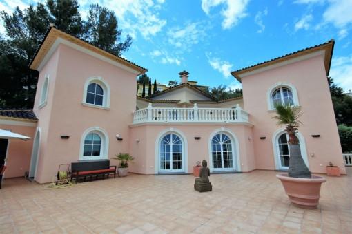 Luxuriöse Villa mit Meerblick und Pool nahe La Sella Golf Platz in Pedreguer, Alicante