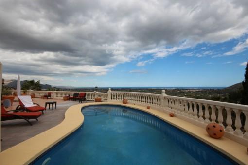 Panoramameerblick