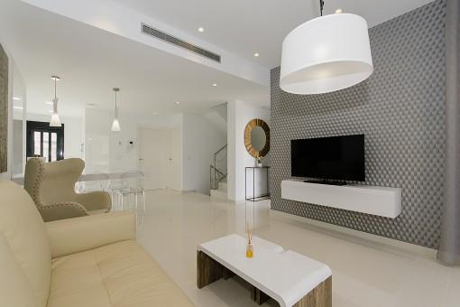 Exklusiver Wohnzimmerbereich