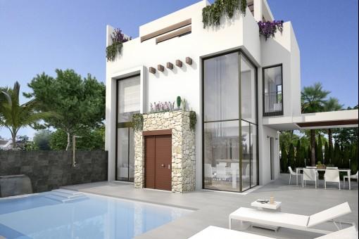 Moderne freistehende Villa in Quesada, Alicante