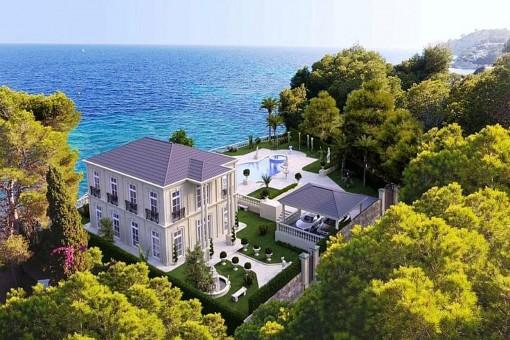 Neue beeindruckende Luxusvilla in erster Meereslinie in Jávea, Alicante