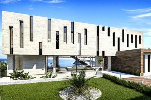 Außergewöhnliche Neubau-Villa mit Pool in Jávea, Alicante