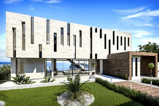 Hochwertige Luxusvilla in erster Meereslinie in Jávea, Alicante