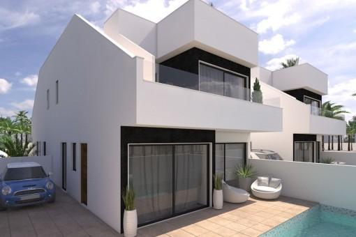 Herrliche Neubauvilla in Strandnähe in San Pedro del Pinatar bei Murcia